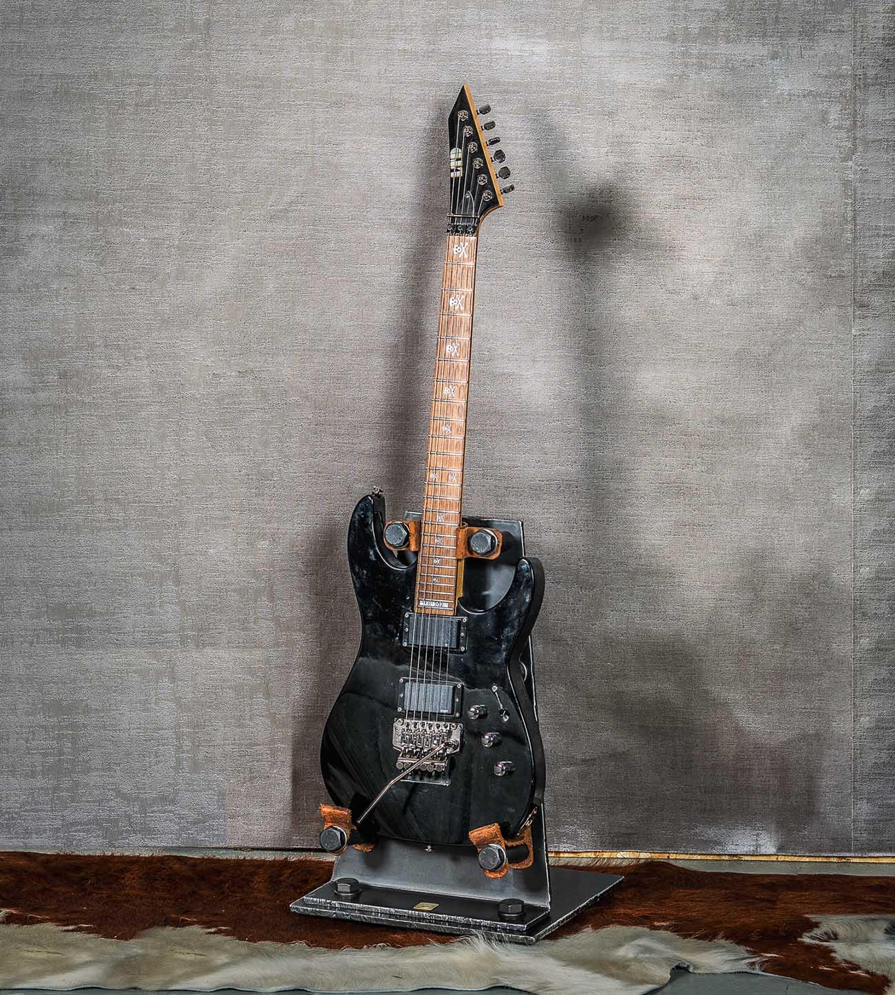 Gitarrstöd i stål