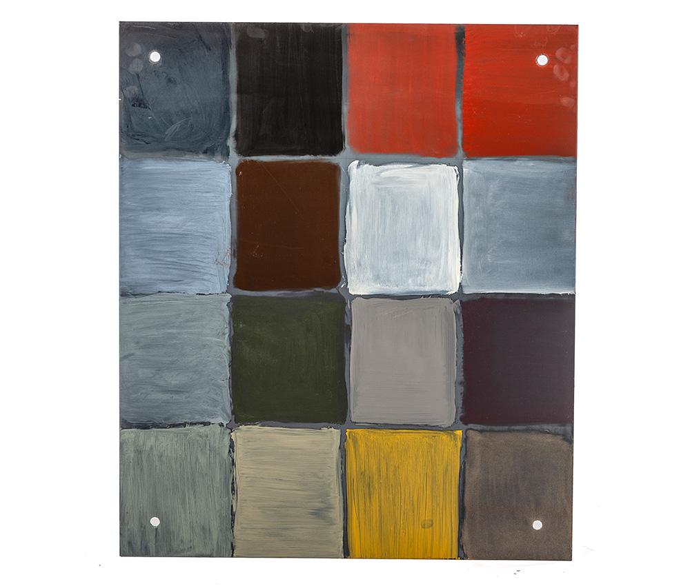 färgprover till möbler i metall