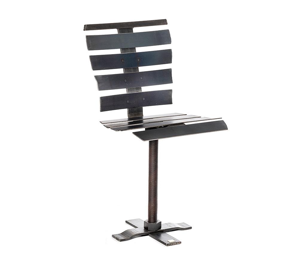 rustik stol i metall