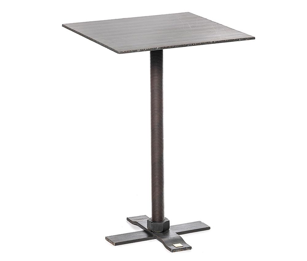4-kantigt bord i stål
